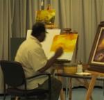 Student Class - Ernest M. Lee, Folk Artist
