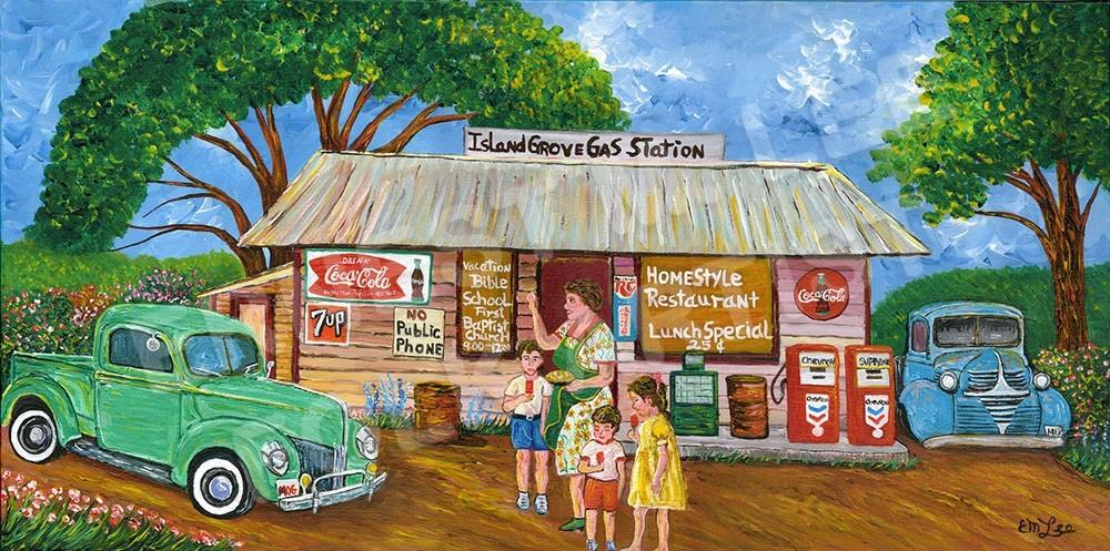 Island Grove Gas Station