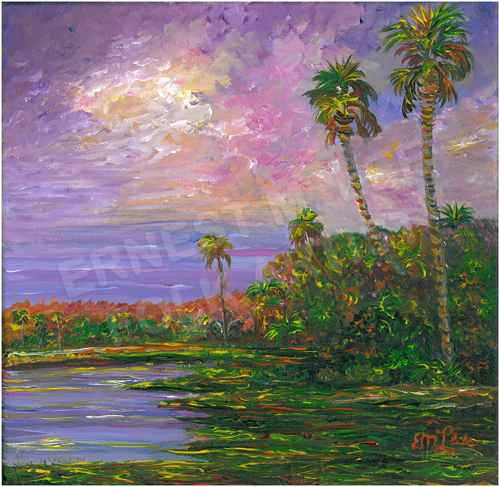 Purple Waterway