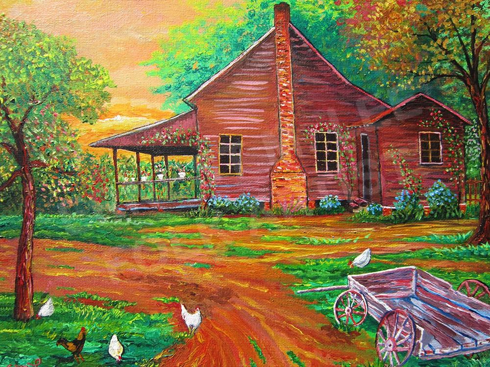 SIDE VIEW HAWTHRONE HOME