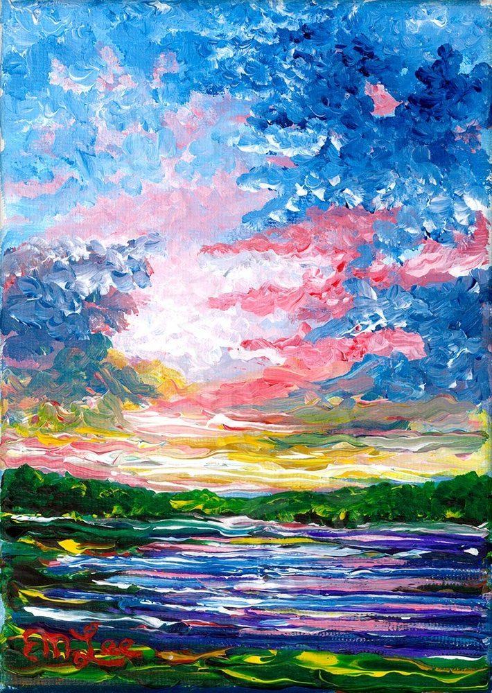 Colorful Paynes Prairie