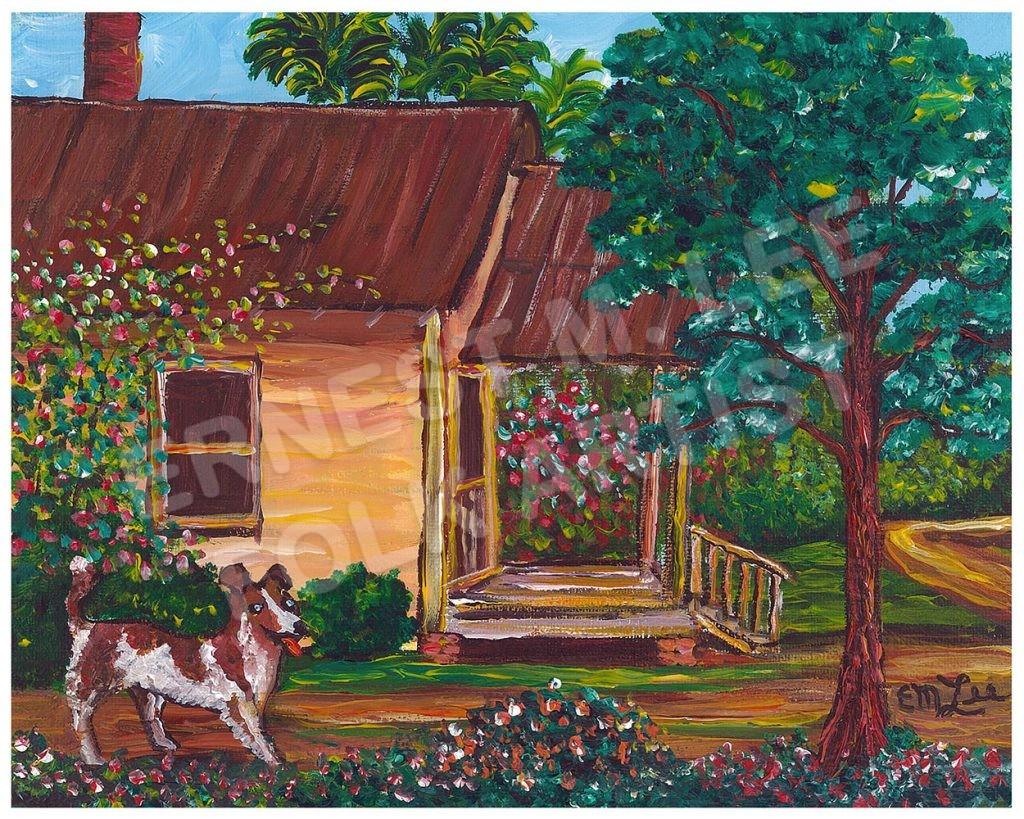 Apalachicola Home with Dog