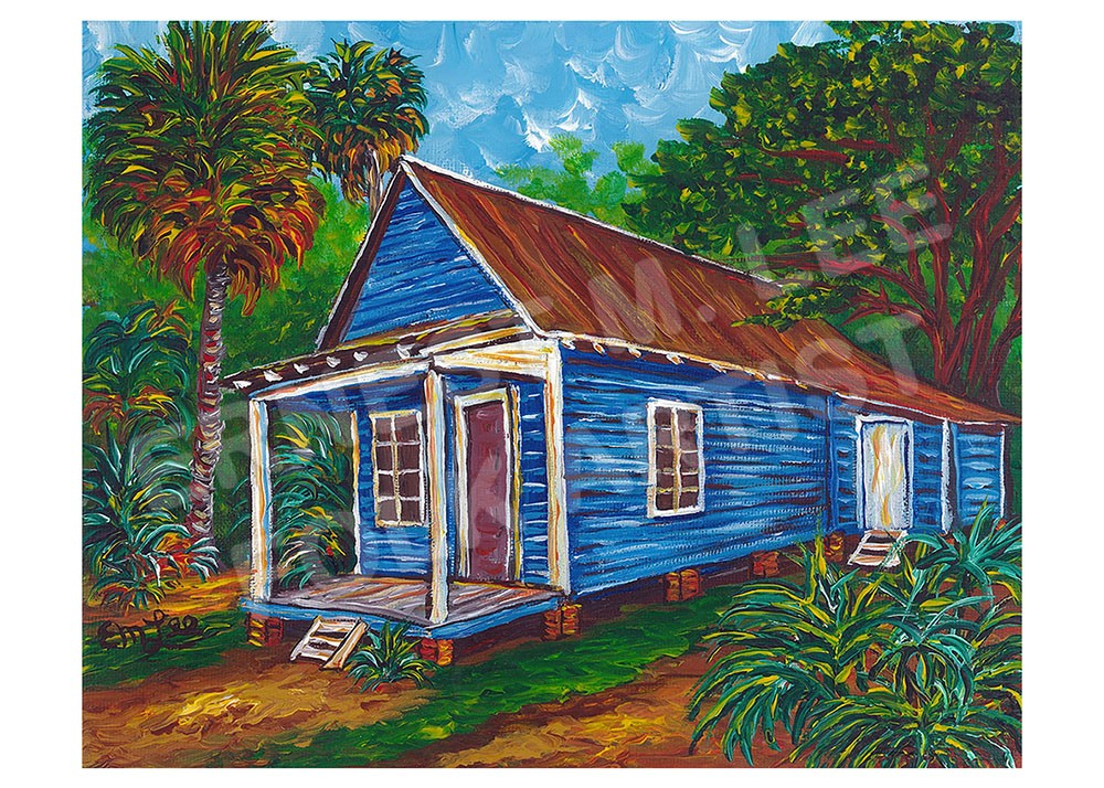 Appalachicola Blue House