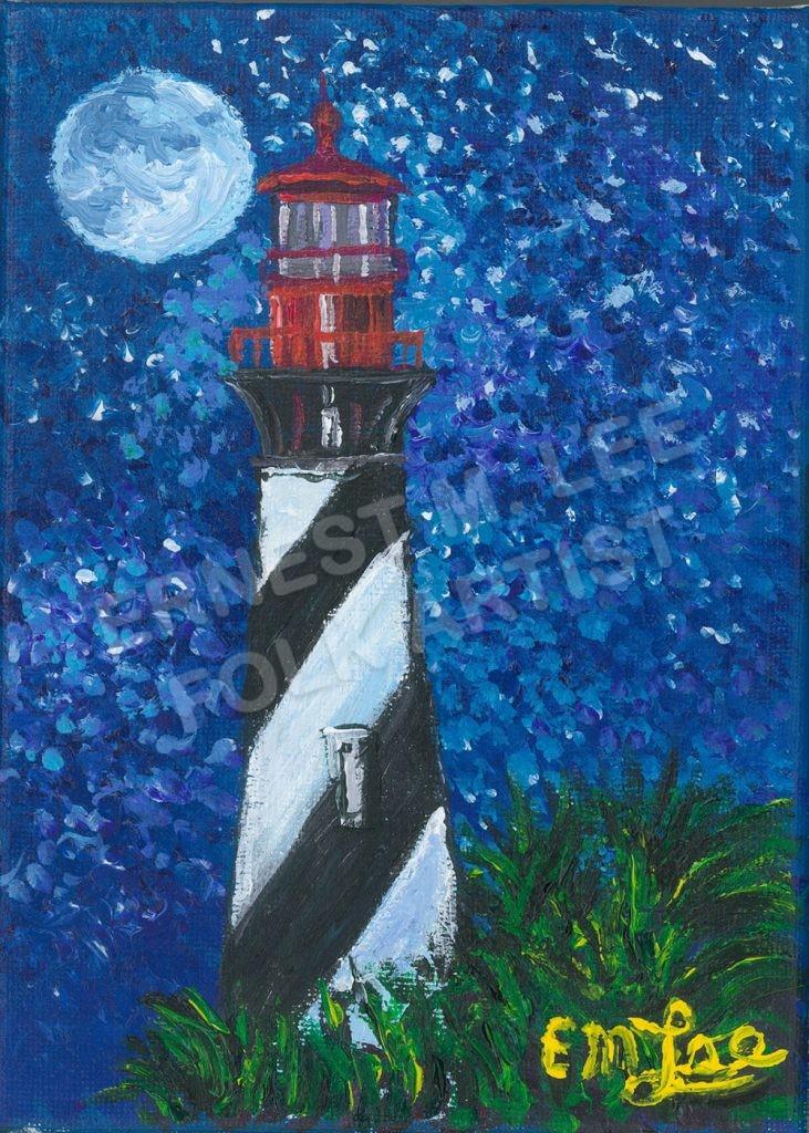 Starry Sky Anastasia Lighthouse